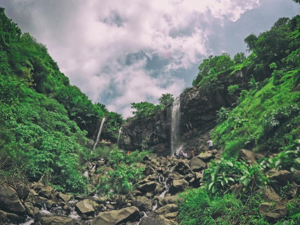 Kharghar waterfalls